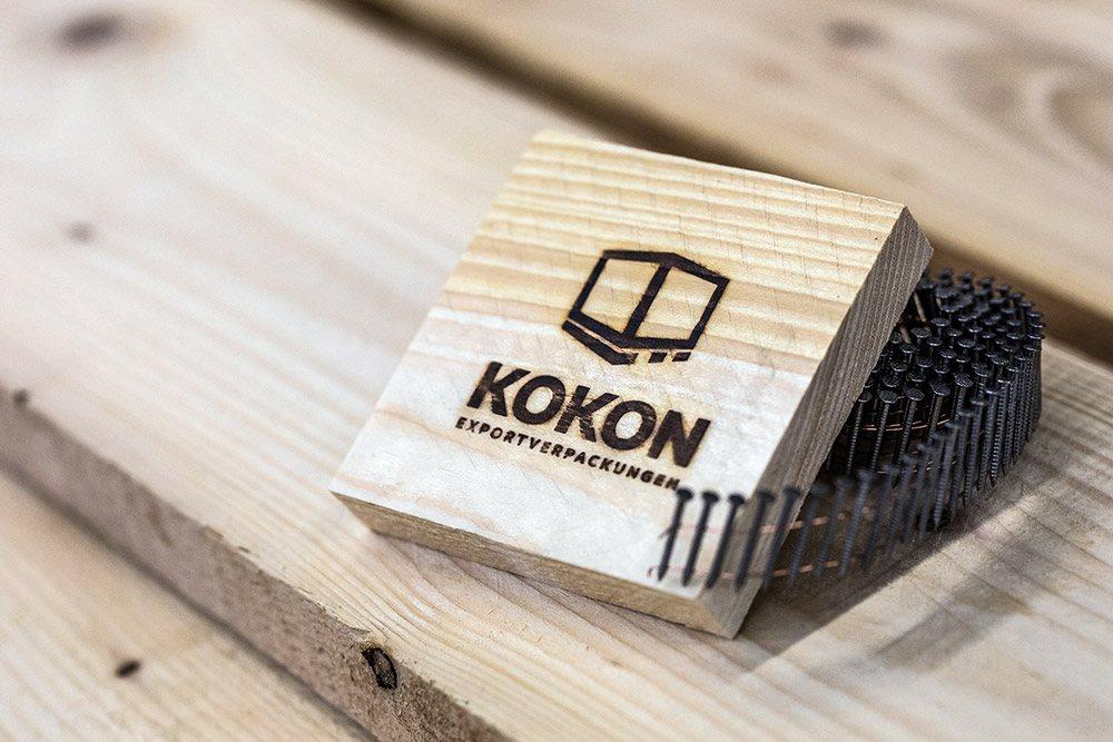 Logo-Brandstempel Projekt KOKON