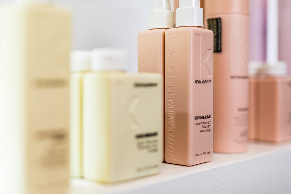 Produkte im Friseursalon Schmitz