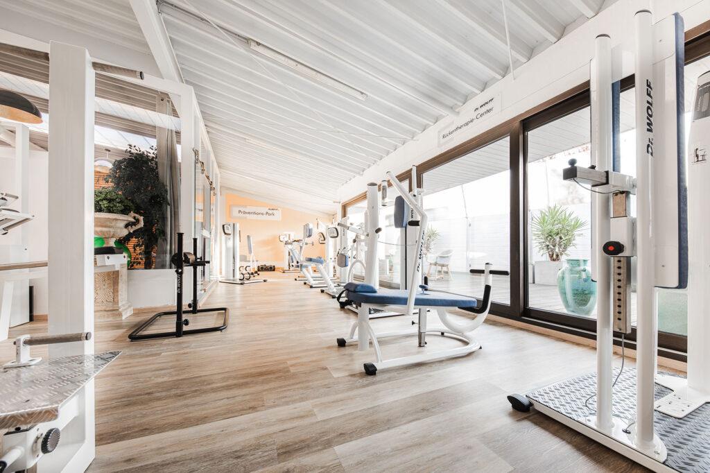 Interior-Fotografie im Physiocentrum Jensen
