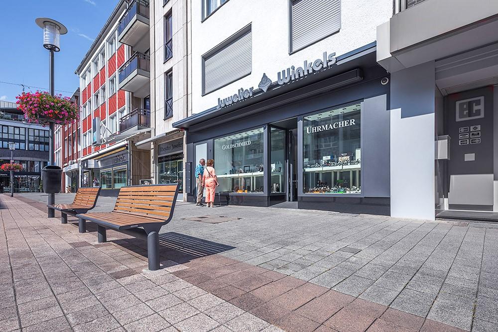 Fotografie Geschäftsräume von Juwelier Winkels