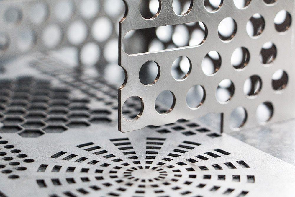 Laserteile für R&C Blechformtechnik