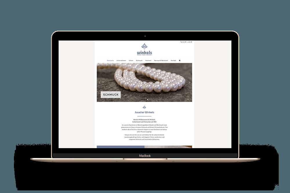 Referenz Winkels Internetseite